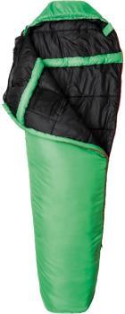 Snugpak Travelpak 3 Lightweight Sleeping Bag, Regular Emerald LH Zip