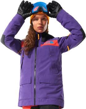 The North Face Team Kit Women's Ski/Snowboard Jacket UK 10 Purple