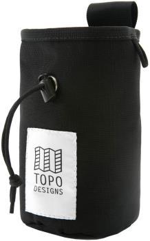 Topo Designs Hipster Rock Climbing Chalk Bag, One Size Black