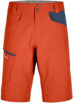 Ortovox Pelmo Shorts Men's Climbing/Hiking Shorts, L Desert Orange