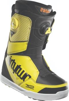 thirtytwo Lashed Double Boa Mens Snowboard Boots, UK 10 Yellow 2021