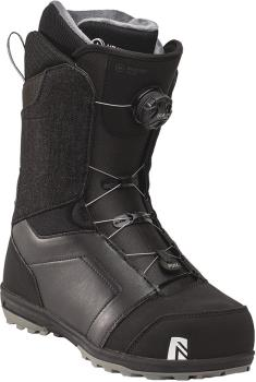 Nidecker Mens Aero Boa Coiler Snowboard Boots, Uk 10.5 Black 2021