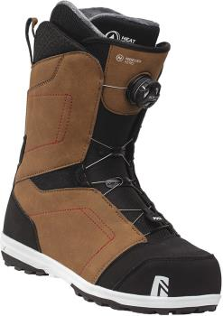 Nidecker Mens Aero Boa Coiler Snowboard Boots, Uk 10.5 Brown 2021
