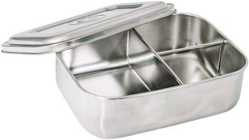 Elephant Box Large Trio Divided Lunchbox Food Container, 1200ml