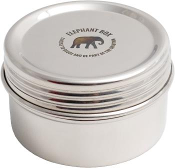 Elephant Box Screw Top Canister Stainless Steel Food Container, Small