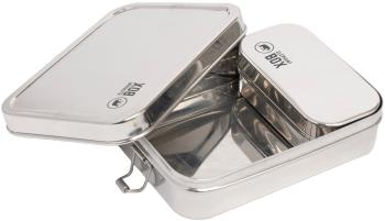 Elephant Box Two In One Lunch Box Stainless Steel Food Container