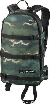 Dakine Adult Unisex 96 Heli Pack Snowboard/Ski Backpack, 16l Olive Ashcroft