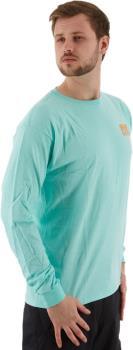 Airblaster Team LS Tee Men's Long-Sleeved T-Shirt, L Seafoam