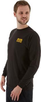 Airblaster Team LS Tee Men's Long-Sleeved T-Shirt, L Black