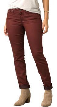 Prana Womens Kayla Regular Women's Stretch Cotton Jeans, Uk 14 Vino