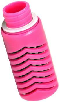 Water-To-Go Replacement Water Filter Purifier Cartridge, Pink
