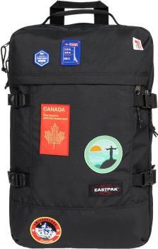 Eastpak Tranzpack Travel Duffle Bag/Backpack, 42L Patched Black