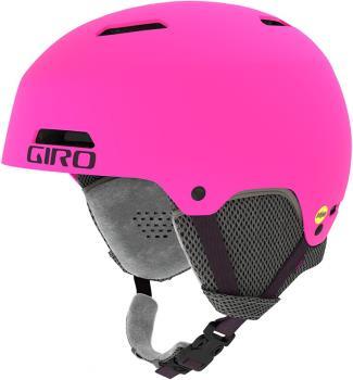 Giro Crue MIPS Kids Ski/Snowboard Helmet, M Matte Bright Pink 2021