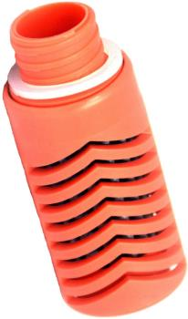 Water-To-Go Replacement Water Filter Purifier Cartridge, Red