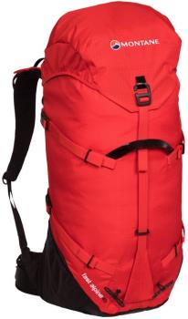 Montane Fast Alpine 40 Climbing & Ski Backpack, 40L Flag Red