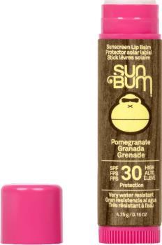 Sun Bum Original Spf 30 Pomegranate Sunscreen Lip Balm, Os