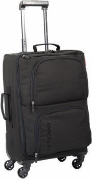 Surfanic Maxim 40L Overhead Carry-On Wheeled Luggage, Black