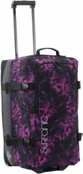 Surfanic Maxim 70L Roller Bag Wheeled Luggage Floral Beach Violet