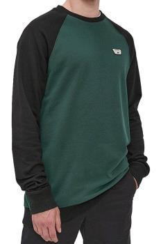 Vans Rutland III Crew Neck Pullover Sweatshirt, S Scrab/Black