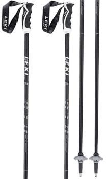 Leki Adult Unisex Comp 16 C Ski Poles, 120cm Black/Grey/Green