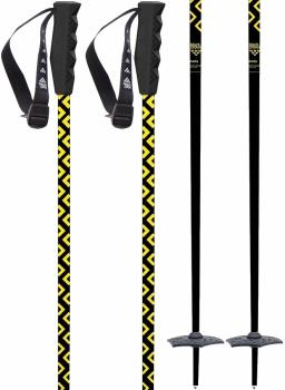 Black Crows Meta Pair Of Ski Poles, 115cm Black/Yellow