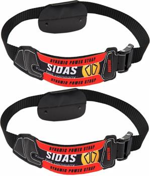 Sidas Booster Ski Boot Power Strap Pair Black/Red Male