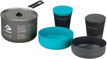 Sea to Summit Alpha Pot Cook Set 2.1 Camping Cookware 1.9L Blue/Grey
