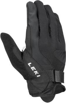 Leki Summer Shark Long Nordic Walking Pole Gloves, XL/10.5 Black