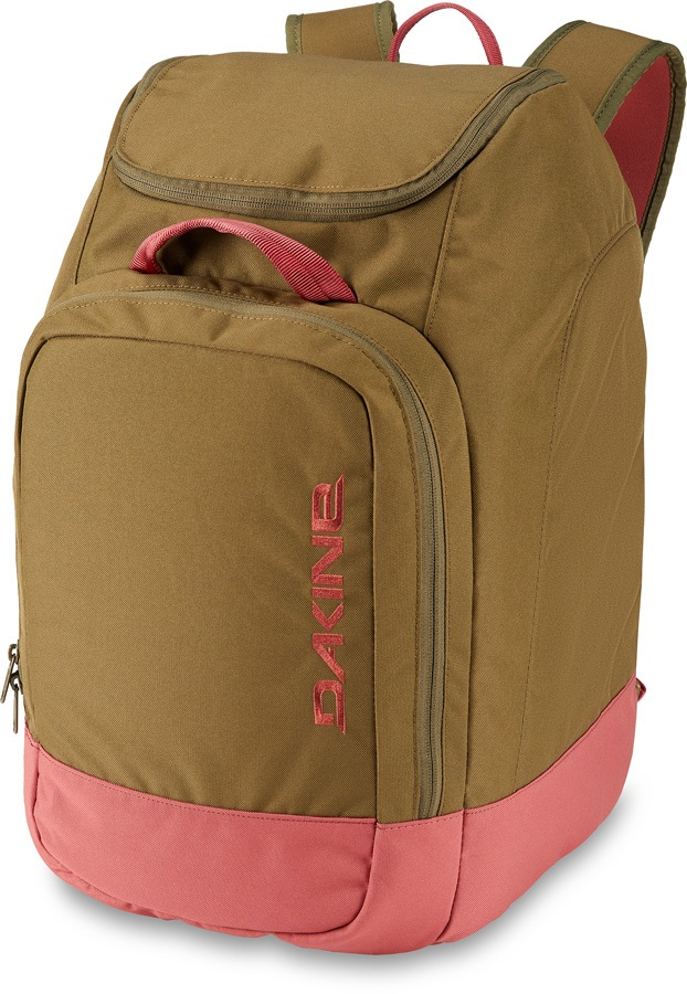 Dakine Boot Pack Snowboard/Ski Gear Bag, 50L Dark Olive/Dark Rose