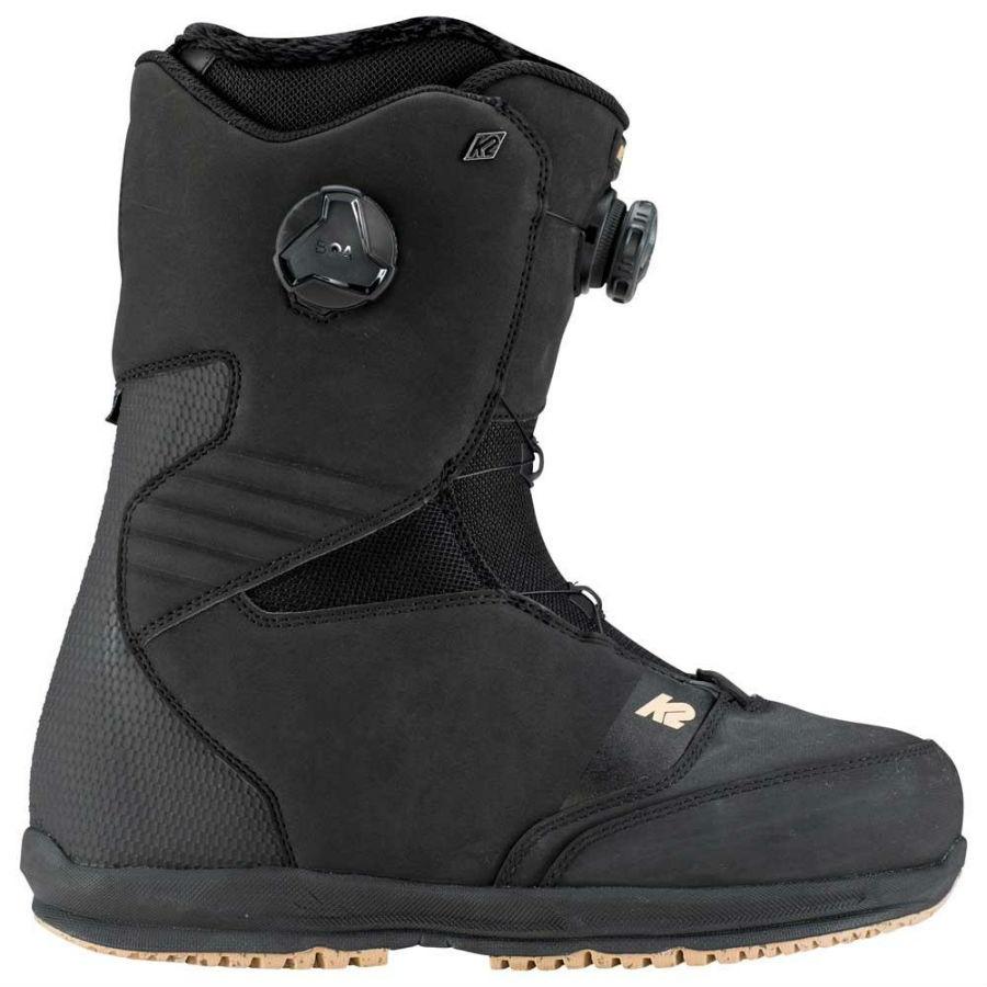 K2 Renin Men's BOA Snowboard Boots, UK 9 Black 2020