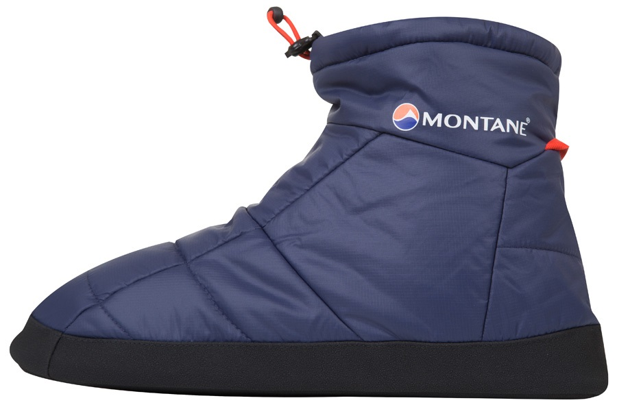 Montane Prism Bootie Insulated Camping Slippers S Antarctic Blue