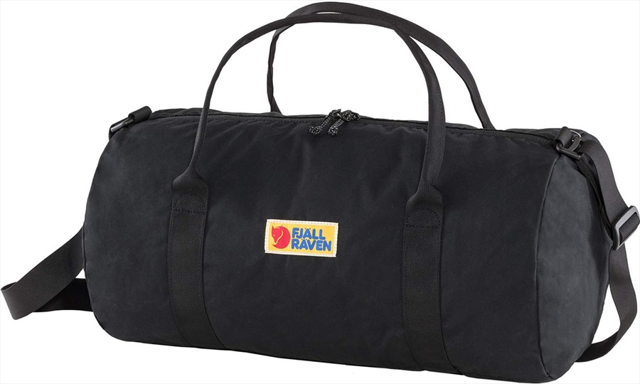 Fjallraven Vardag 30 Travel Duffel Bag, 30L Black