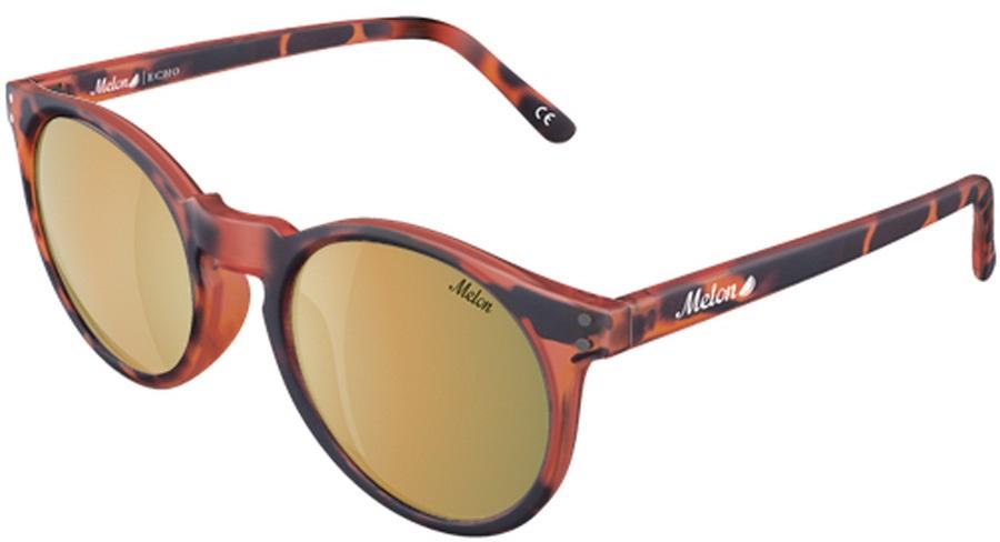 Melon Echo Gold Chrome Polarized Sunglasses, Luxe