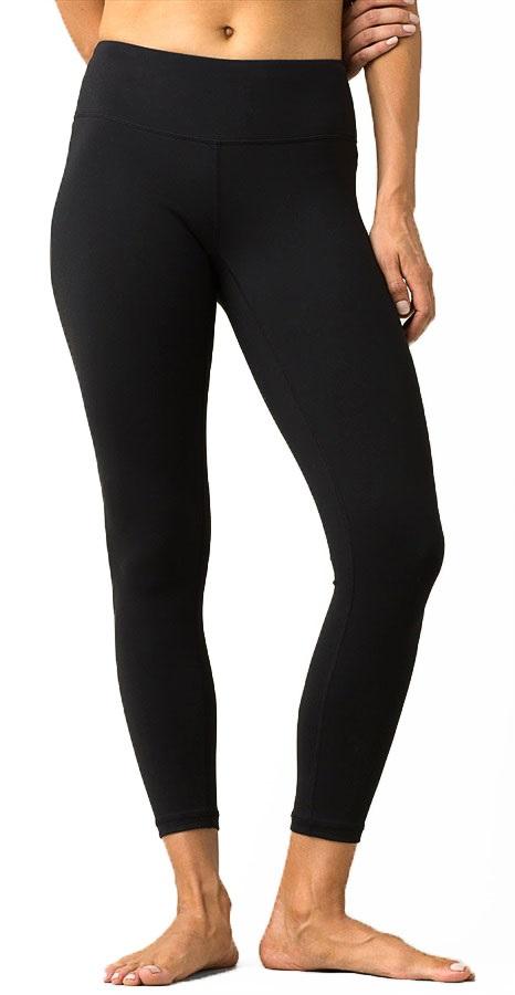 Prana Womens Pillar 7/8 Women's Sportswear Leggings, L Black
