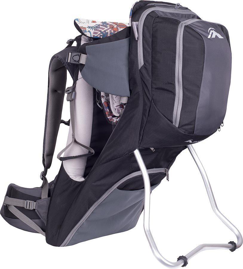 Macpac Possum V2 Child Carrier Backpack, S2, Black/Forged Iron