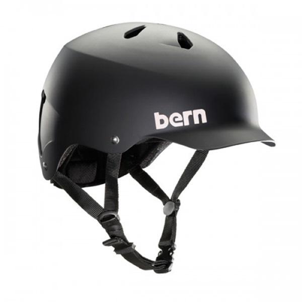 Bern Watts H2O Watersports Wakeboard Helmet, L Matte Black 2021