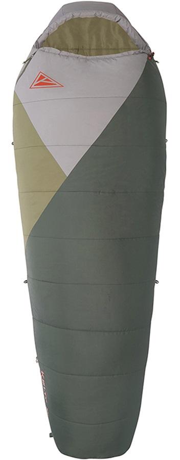 Kelty Stardust 30F/0C Camping Sleeping Bag, Long Green RH Zip
