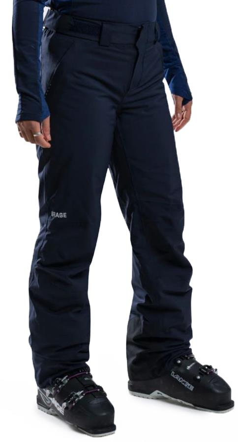 Orage Chica Women's Ski/Snowboard Pants, S Pure Navy