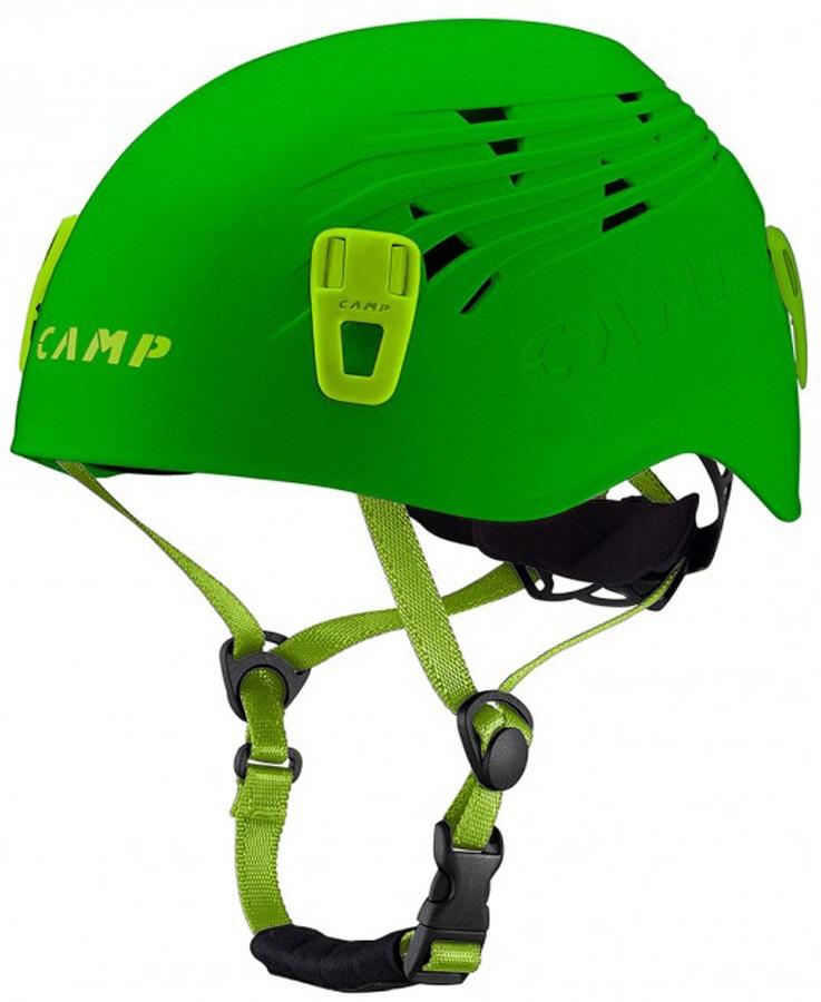 CAMP Titan Rock Climbing Helmet, 54-62cm, Green