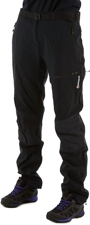 Montane Terra Mission Short Women's Mountaineering Pants, UK 12 Black