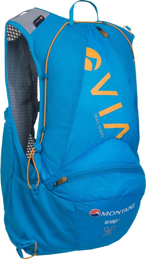 Montane VIA Snap 4 Trail Running Women's Vest Backpack, 4L Blue