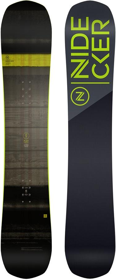 Nidecker Play Hybrid Camber Snowboard, 162cm Wide 2022
