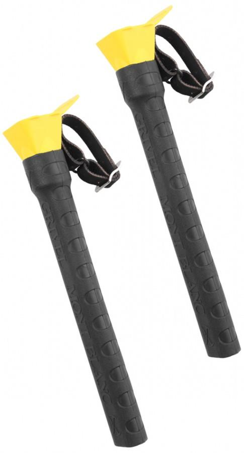 Grivel Espresso Ice Screw Carrier and Protector Black/Yellow