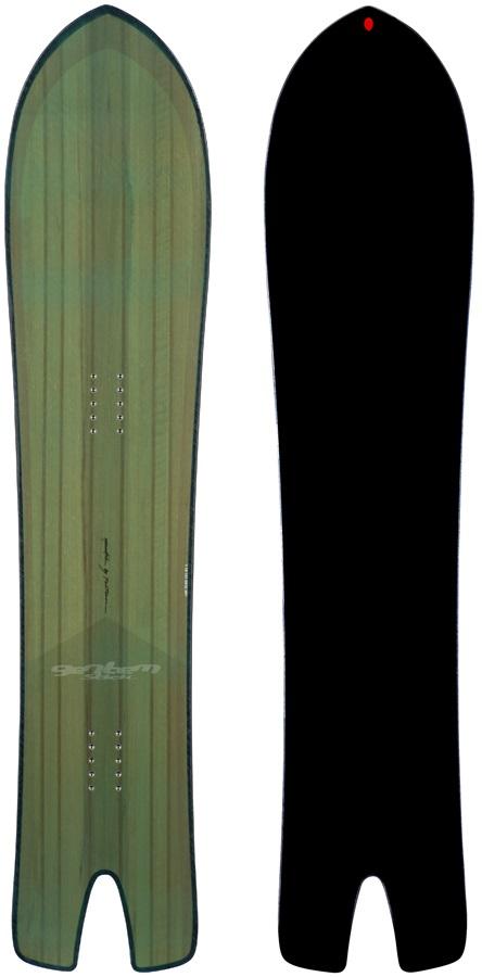 Gentemstick Spoon Fish Hybrid Camber Snowboard, 141cm 2021