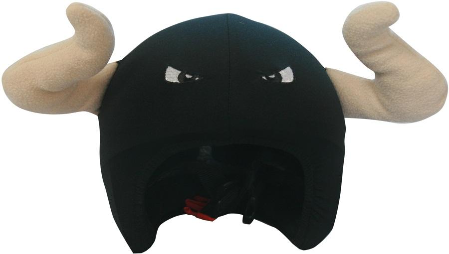 Coolcasc Animals Ski/Snowboard Helmet Cover, One Size, Spanish Bull