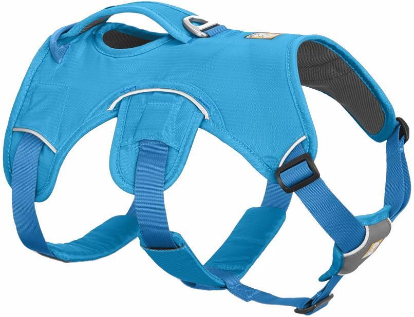 Ruffwear Web Master Active Dog Harness With Handle, S Blue Dusk
