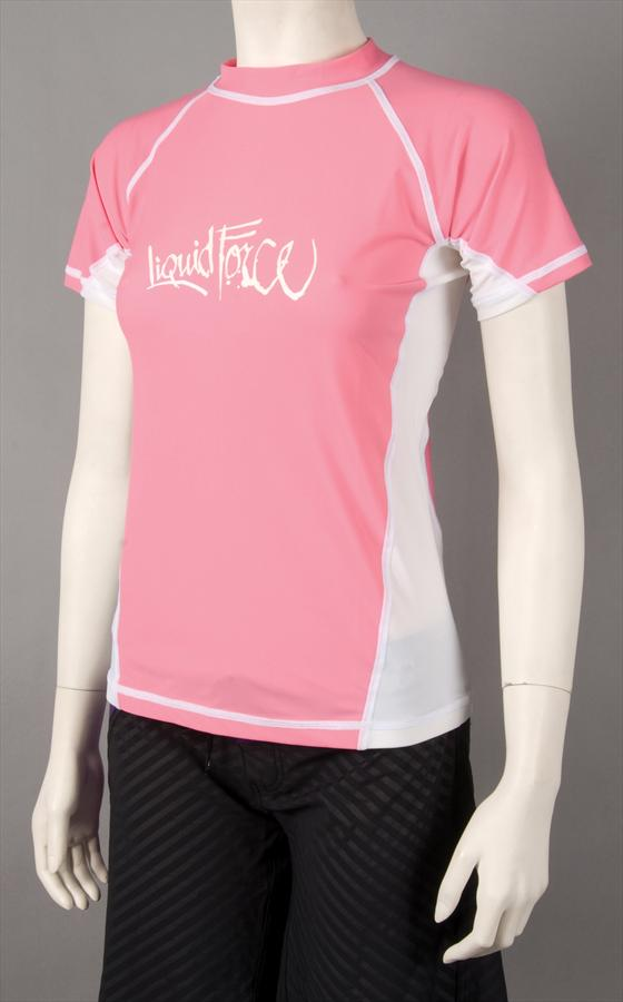 Liquid Force JR Tight Ride Thermal Riding Top Junior Large SS Pink