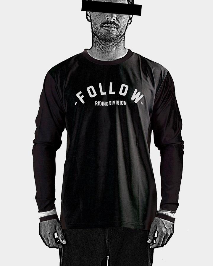 Follow Hydro L/S T Shirt, L Black 2021