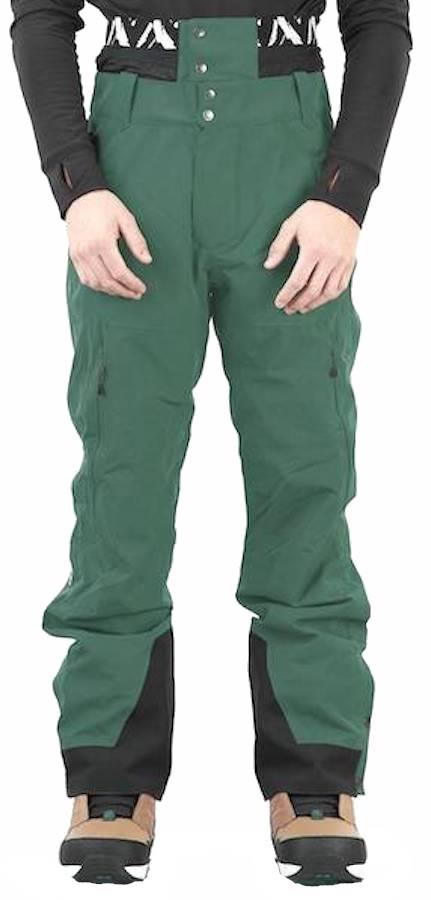 Picture Mens Object Ski/Snowboard Pants, Xl Forest Green