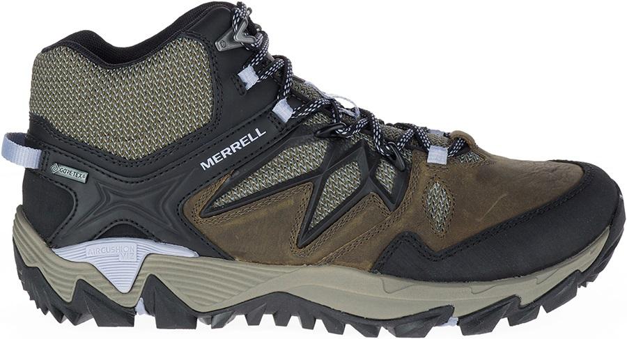 Mid Gore-Tex Hiking Boots, UK 5 Dark Olive